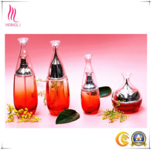 Fancy Cosmetic Packaging Bottles with Different Shapes and Colours pictures & photos