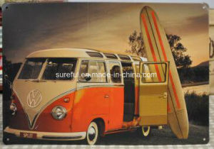Cool Car Design Style 20*30cm Tin Sign pictures & photos