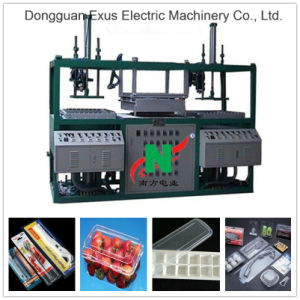 Double/Two Position Semi-Auto Plastic Blister Vacuum Thermo Forming Machine