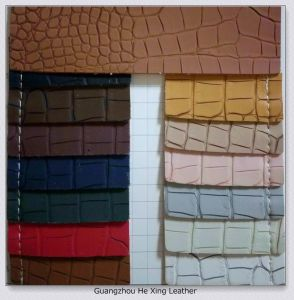 Synthetic Leather, PVC Leather for Bag, Purse, Sofa, Shoes Footwear pictures & photos