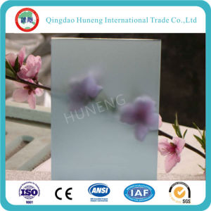 4mm Clear Acid Frosted Glass (single side or double side) pictures & photos