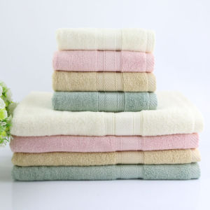 Promotional Hotel / Home Bamboo Fiber Bath / Beach / Face Towel pictures & photos
