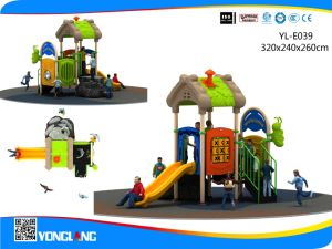 2017 Yonglang Cheap Plastic Playground Equipment Mini Series for Sale (YL-E039) pictures & photos