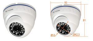 China Manufacturer CCTV Vandalproof Dome Cameras Ahd Security Camera (MVT-AH34) pictures & photos