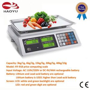 Digital Desktop Price Weighing Scale Scales pictures & photos