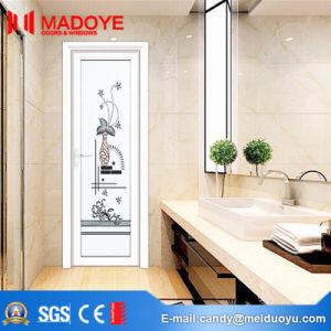 Insulating Glass Building Material Wood Grain Bathroom Door pictures & photos