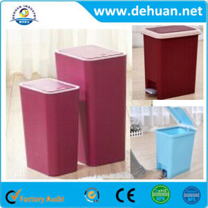 New Style Plastic Recycle Garbage Trash Bin/ Plastic Office Dustbin pictures & photos
