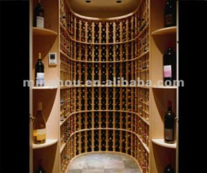 3 Column Standard Wine Cellar Corner Kit Display Stand pictures & photos