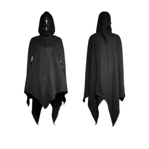 Py-201 Gothic Dark Bats Tapered Conical Hat Cloak for Halloween pictures & photos