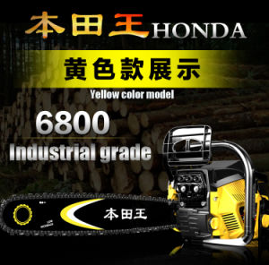 Best Selling Chainsaw in China Honda Gasoline Chainsaw 68cc pictures & photos