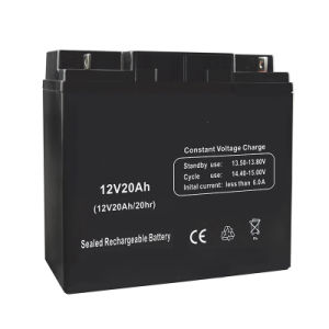 12V 20ah Solar Gel Battery for LED Lighting System pictures & photos