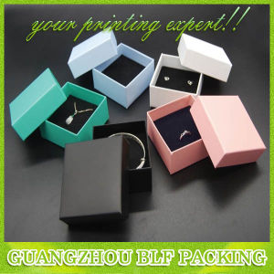White Cardboard Ring Boxes (BLF-GB534) pictures & photos