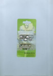 Prong Snap with Enamel Metal Material Blisder Packing pictures & photos