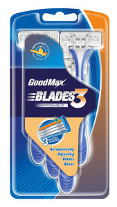 Good Quality 3 Blade Disposable Razor pictures & photos