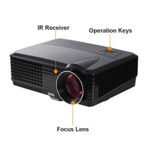 Competitive HD LED Projector Yi801 pictures & photos