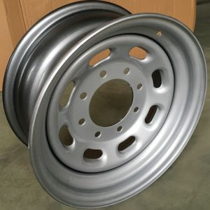 Silver Steel Auto Parts Car Wheel Rim 16X7 pictures & photos
