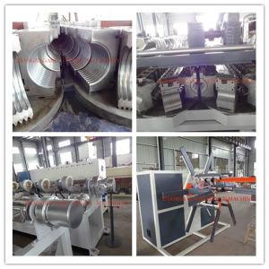 Plastic Extrusion Machine for PE PVC PP Flexible Conduits Corrugated Pipe pictures & photos