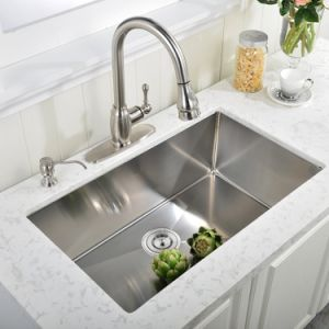 Handmade Stainless Steel SUS 304 18/8 R10 Sinks pictures & photos