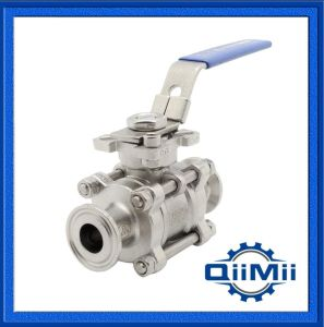 Dn Stainless Steel Clamp End, Manual Handle Ball Valve pictures & photos