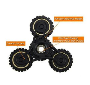 Chinese Manufacturers Hot Gyroscope Fidget Toys Gear Fidget Spinner pictures & photos