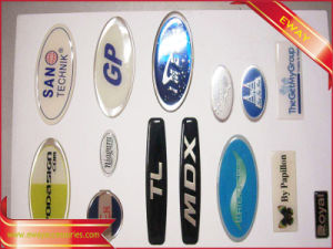 3D Epoxy Sticker Label Vinly Clear Sticker pictures & photos