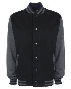 Wholesale Mens Polar Fleece Baseball Jacket (A668)