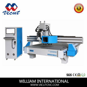 Soft Material CNC Cuttting Machine Contour Cutting (VCT-CCD1325ATC8) pictures & photos