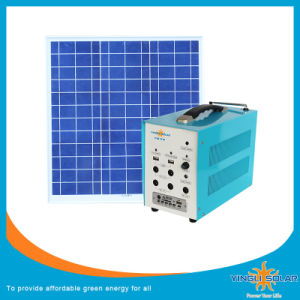 Portable 80W Solar Home Lighting System Solar Energy Products pictures & photos