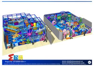 High Quality Kid′ S Soft Playground Equipment