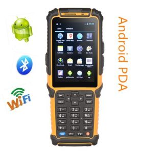 WiFi Bluetooth Handheld Android PDA Ts-901 with Laser Barcode Scanner pictures & photos
