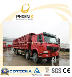 Used HOWO Dump Truck Tipper 371 HP 8X4 with Excellent Quality and Best Price pictures & photos
