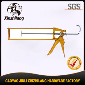 Cheapest Price Hand Tools Steel Pole Caulking Gun 300ml pictures & photos