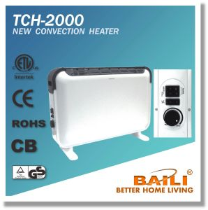 Popular 2000W Convection Heater with Turbo Fan and Thermostat pictures & photos
