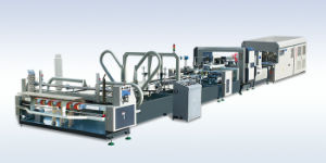 Automatic Folder Gluer Stitcher and Bundling Machine (High Efficient Type) pictures & photos
