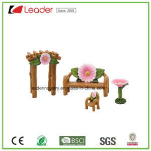 Decorative Polyresin Mushroom House Fairy Garden Miniature for Home and Garden Decoraiton pictures & photos