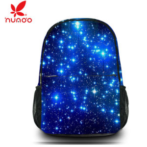 Galaxy Boy′s Girls Canvas Travel Satchel Shoulder Bag Backpack School Rucksack pictures & photos