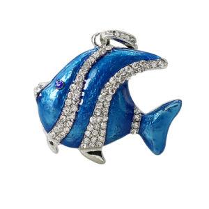 New Design Diamond Fish USB Flash Drives U Disk Cheaper pictures & photos