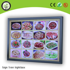 Outdoor Indoor Ultra Slim Advertising LED Display Acrylic Light Box pictures & photos