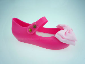 Cerise Girls PVC Jelly Shoes