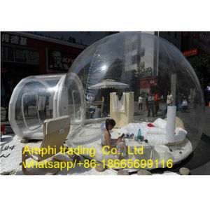 Romantic Transparent Inflatable Bubble Tree Tent, Inflatable Camping Tent