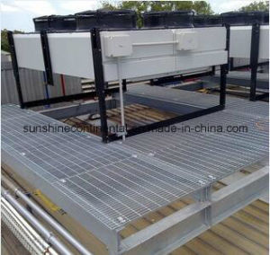 Hot Dipped Galvanized Floor Platform Steel Bar Walkway Grating pictures & photos
