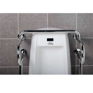 Wall Floor Mounted 304 Stainless Steel Grab Bars For Urinal