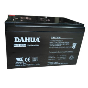 12V 12ah VRLA Sealed Lead Acid Maintenance Free UPS Battery pictures & photos