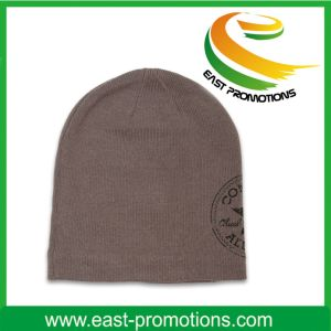 2017 Hot Competitive Promotional Knitted Beanie Cap Crochet Winter Warm Hat pictures & photos