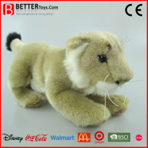 ASTM Realistic Soft Plush Animal Lion Toy Lioness pictures & photos