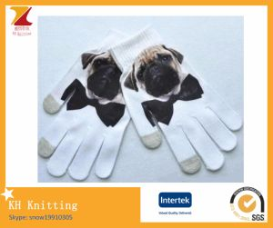 Various Kinds of 3D Pattern Printed Gloves pictures & photos