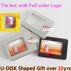Hot Custom Logo Gift Credit Card USB Flash Drive (YT-3101) pictures & photos