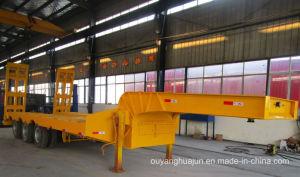 2 Axles Gooseneck Excavator Carrier Vehicle Semitrailer pictures & photos