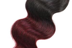 "Cheap 6A Human Hair Weaving Ombre Color Natural Body Wave 16"" Unprocessed Virgin Brazilian Hair Extension pictures & photos"