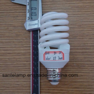 Energy Saving Lamp 24W 26W Full Spiral Compact Fluorescent Bulb pictures & photos